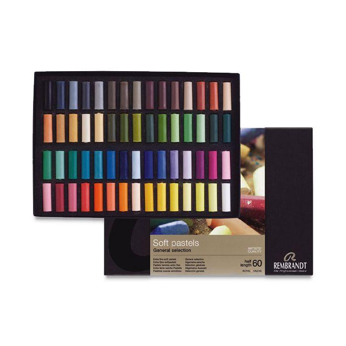 31820511 Rembrandt Soft Pastels 5pc Half Stick Yellow Ochres