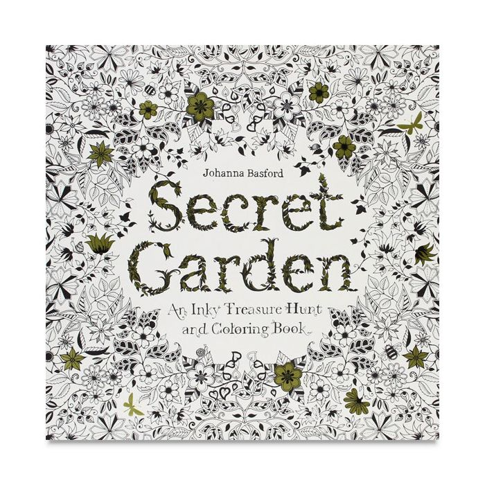 Secret Garden Coloring Book By Johanna Basford - Cheap Joe's Art Stuff