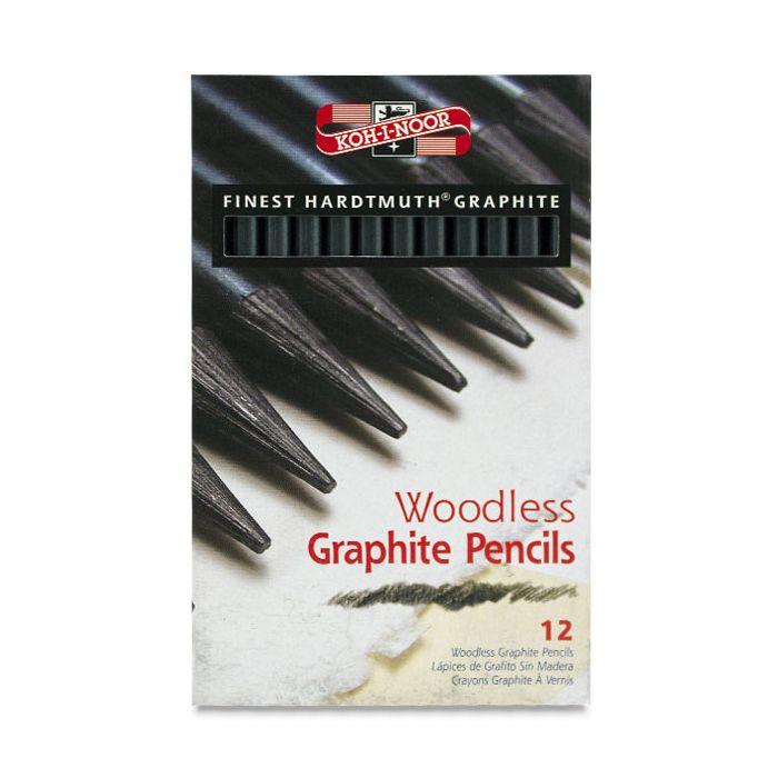 Progresso Aquarell 12 Woodless Graphite Pencils Koh-I-Noor
