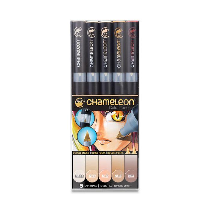 Chameleon Marker Skin Tones Set Of 5
