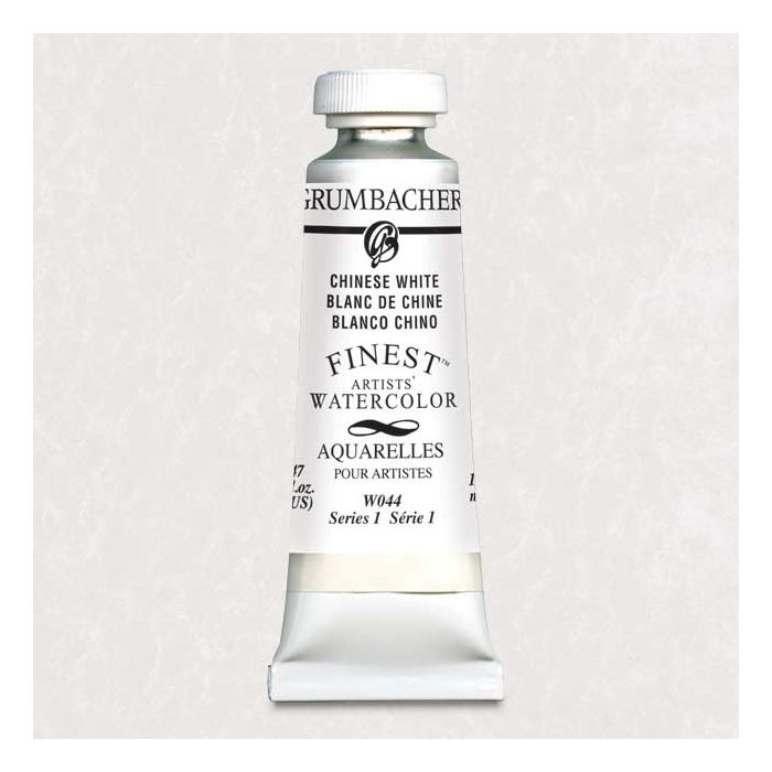 Grumbacher Finest Artists Watercolor Chinese White 14 Ml