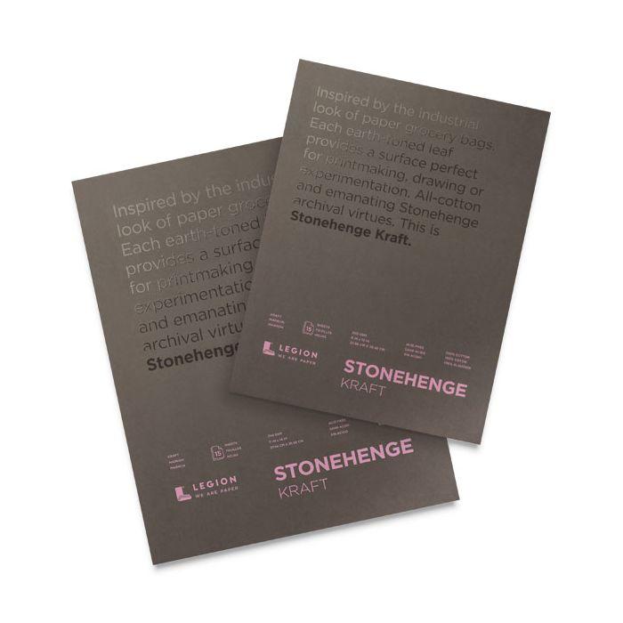Stonehenge Kraft Sketch Pads