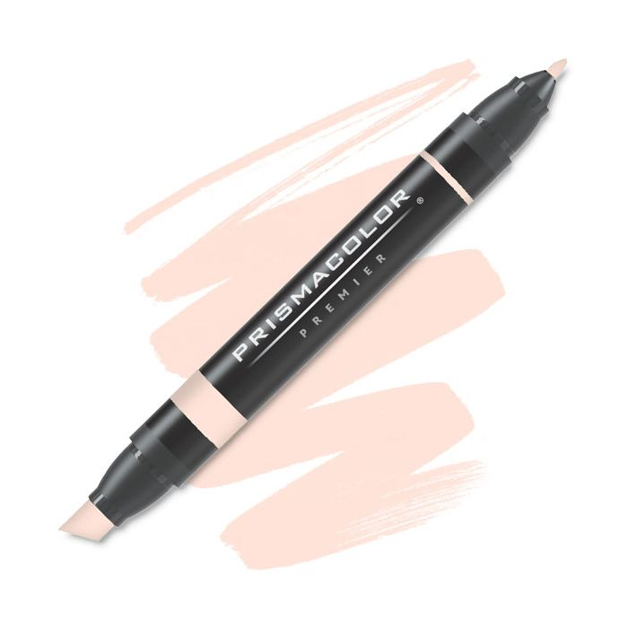 Prismacolor Premier Chisel Fine Double Ended Art Marker Light Peach