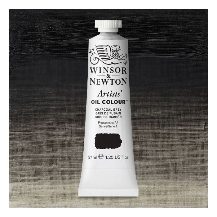 Charcoal Gray Paint >> Winsor Newton Artists Oil Color Charcoal Gray 37 Ml