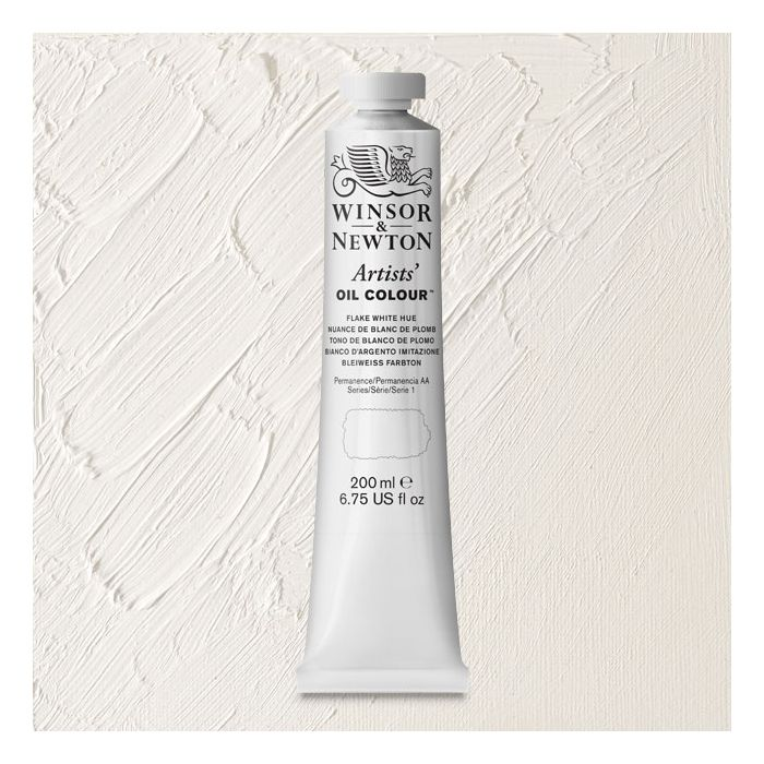 Winsor Newton Artists Oil Color Flake White Hue 200 Ml