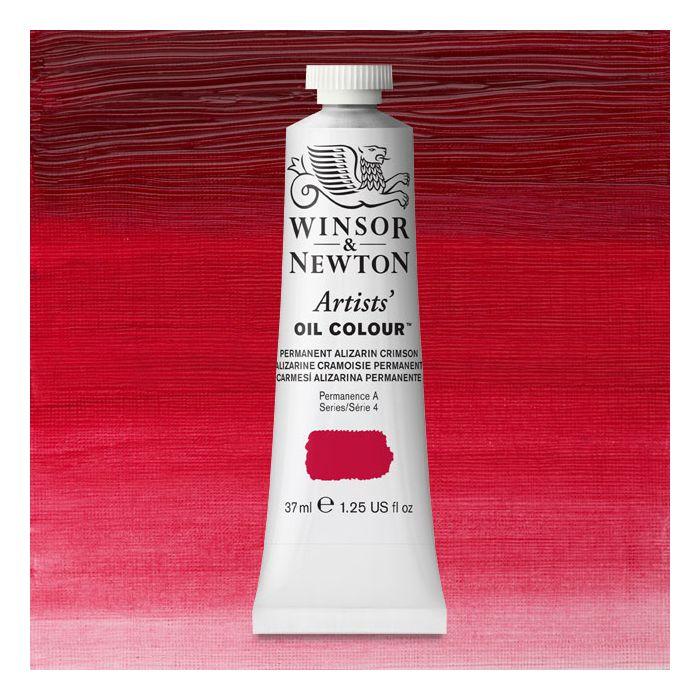 Oil Paint, Permanent Alizarin Crimson, 37 ml. by Winsor & Newton ...