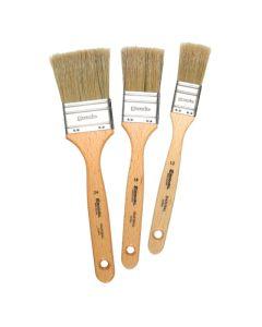 Escoda Natural Chungking Bristle Varnishing and Gesso Brushes