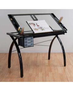 Studio Designs Black Futura Craft Station