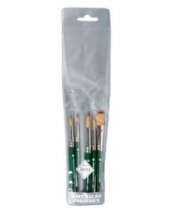 Synthetic Brushes, Travel Set