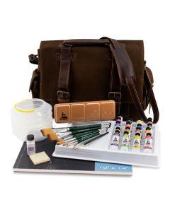 American Journey Productive Artist Watercolor Set (Portfolio bag design may differ slightly.)