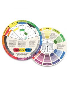 Color Wheel Watercolor Wheel (front and back)