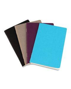 EcoQua Pocket Notebook Set of 4