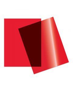 """Grafix Clear-Lay, Red, 9"""" x 12"""" Sheets"""