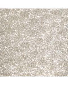Embossed Paper, Zinnias, Pearl White