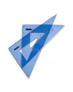 """10"""" Triangle Set of 2, 45 and 60 Degrees"""