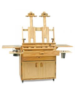 Caitlin Taboret and Easel