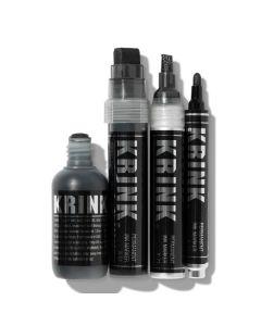 Super Black Permanent Ink Marker - Set of 4