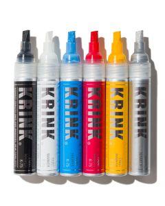K-75 Paint Marker - Assorted Colors, Set of 6