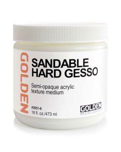 Sandable Hard Gesso, 8 oz.