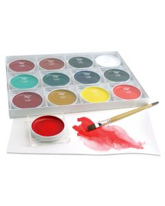 12 Piece Sumi-e Watercolor Set (Brush and Paper not included.)
