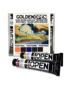 Golden Open Acrylic Sets