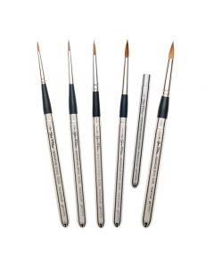 50/50 Travel Round Watercolor Brushes