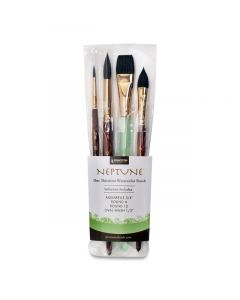 Neptune Series 4750 Synthetic Squirrel, Brush Set of 4