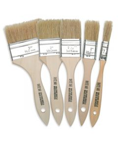 Natural Hog Bristle Chip Brushes