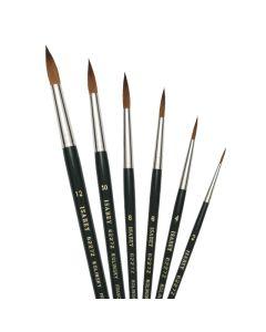 Isabey Pure Kolinsky Sable Brushes Series 6227z