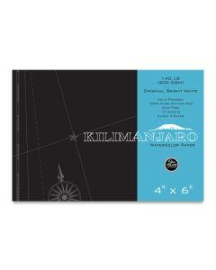 """Kilimanjaro Original Bright White Watercolor Block, 140 lb., 4"""" x 6"""""""