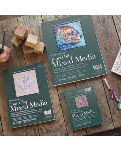 400 Series Toned Mixed Media Pads
