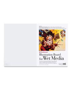 "500 Series Illustration Board, Sheet, Vellum, 15"" x 22"""