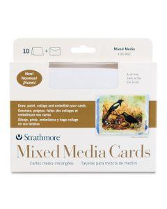 "400 Series Mixed Media Cards, 5"" x 7"", Box of 10"