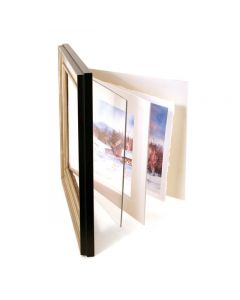 Clear Acrylic Sheets, Framing Sample (Frame and Matting Not Included)