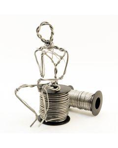 Armature Wire Sculpture by Bryant Critcher
