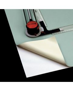 Vinyl Drawing Board Cover, Corner Detail