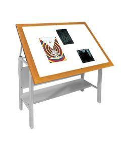 Gagne Porta-Trace Table Mounted Light Box