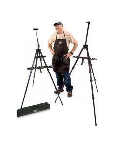 Joe and his Travel Light Easels