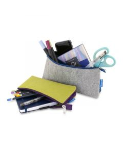 Profolio Midtown Pouches (Stuff Not Included), Green/Purple and Gray/Blue