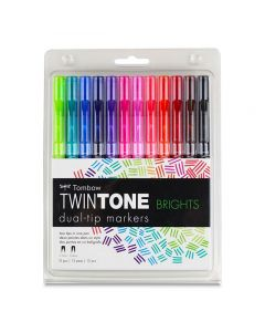 Bright Colors, Set of 12