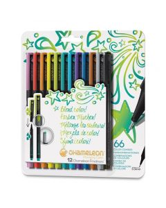 Fineliner Bright Colors, Set of 12