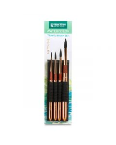 Series 4750 Synthetic Squirrel, Travel Set of 4