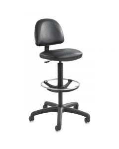 Precision Extended Height Chair, Black Vinyl