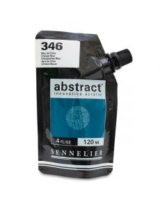 Abstract Acrylic, Chinese Blue, 120 ml.
