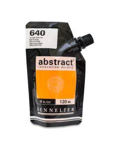 Abstract Acrylic, Red Orange, 120 ml.