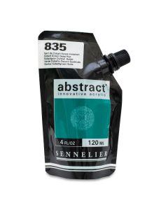 Abstract Acrylic, Cobalt Green Deep Hue, 120 ml.