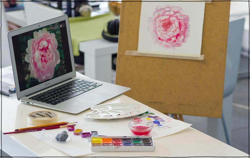 Take a Cheap Joe's Online Art Workshop!