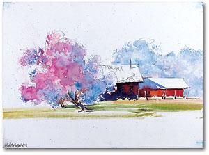 Artist Tip 23: Using Watercolor Canvas - Cheap Joe\'s Art Stuff