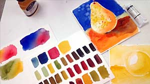 Back in the Classroom with Winsor & Newton Watercolors