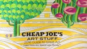 The Cheap Joe's 2016 Guide to Great Art!
